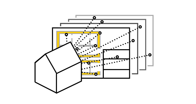 Drawings within the model context